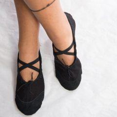 Zapatos ensayo Medias Puntas